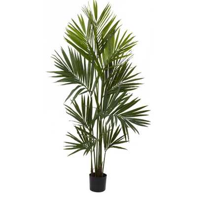 7 ft. Kentia Palm Silk Tree - Home Depot
