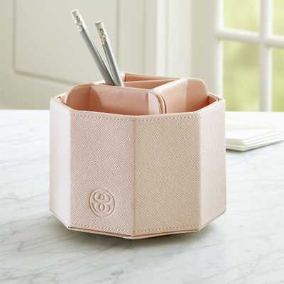 Agency Blush/Pale Pink Pencil Carousel - Crate and Barrel