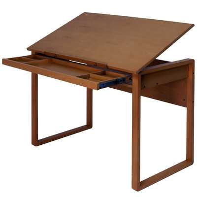 Ponderosa Drafting Table - Wayfair