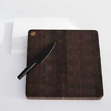 Holler Design Wood Cutting Board, Walnut - West Elm