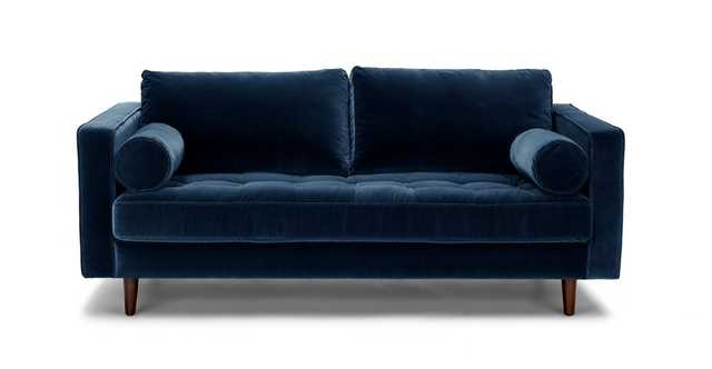 "Sven Cascadia Blue 72"" Sofa - Article"