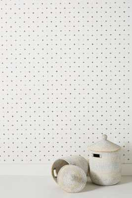 Magnolia Home Cross-Stitch Wallpaper - Anthropologie
