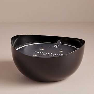 Rove Metal Candle, Black, Promenade, Rue de Paris - West Elm
