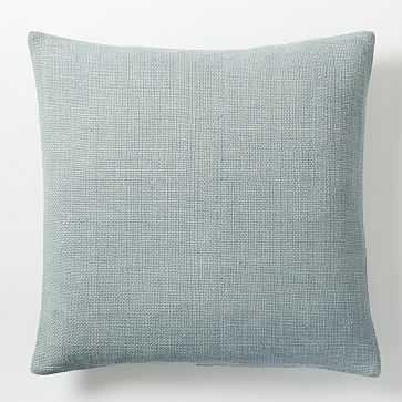 "Silk Handloomed Pillow Cover, 20""x20"", Moonstone - West Elm"