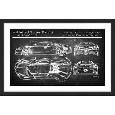 'Bugatti Chiron' Framed Painting Print - Wayfair