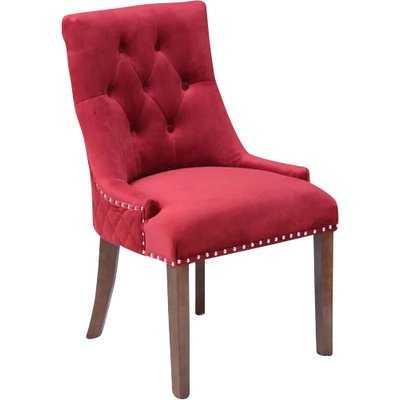Bernyce Velvet Parsons Upholstered Dining Chair - Wayfair