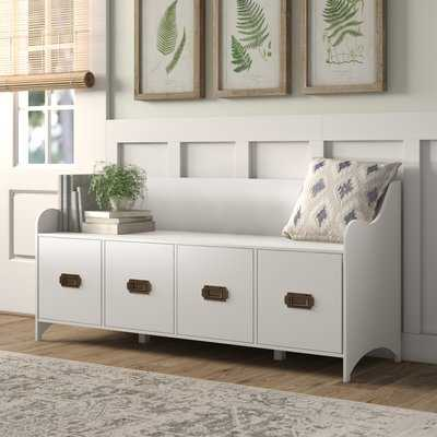 Edwards 4-Drawer Storage Bench - Wayfair