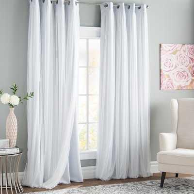 Brockham Room Darkening Thermal Grommet Curtain Panels - AllModern
