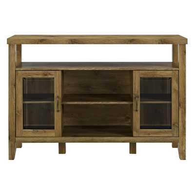 52 Wood Console High Boy Buffet Barnwood - Saracina Home - Target