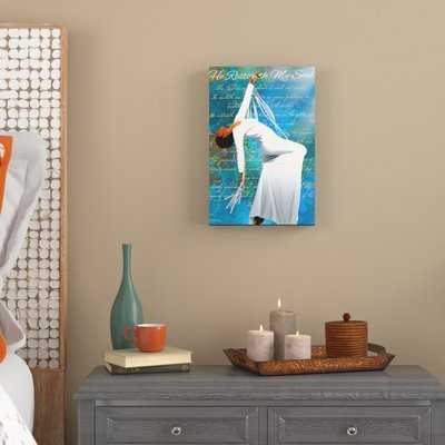 'Given to God Christian Dancer African American' Graphic Art Print on Canvas - Wayfair