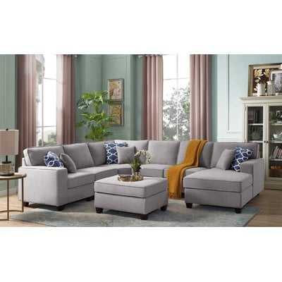 Mequon Right Hand Facing Modular Sectional with Ottoman - Birch Lane