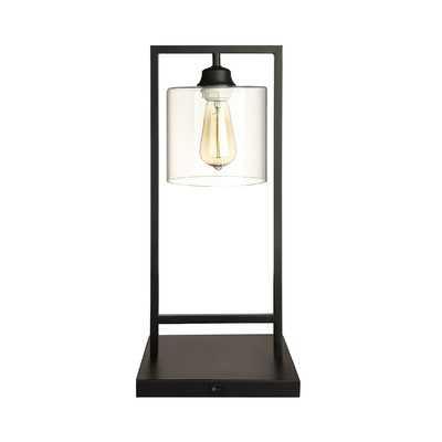 "Vintage Bell Inspired Metal 21"" Table Lamp - Birch Lane"