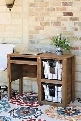 Millwood Pines Connell Desk with Storage - eBay