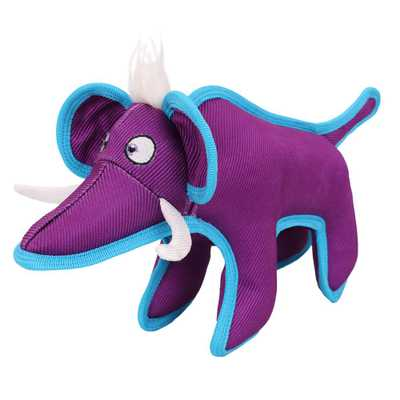 Purple Animal Dura-Chew Reinforce Stitched Durable Water Resistant Plush Chew Tugging Dog Toy - Home Depot