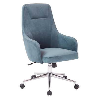 Marigold Desk Chair, Blue - Home Depot