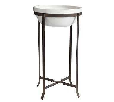 Amir Planter With Stand Tall Bowl - Pottery Barn