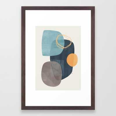 Cyra Framed Art Print by Matadesign - Society6