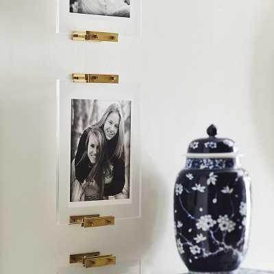 Wall Easel Brass & Acrylic Set   - Ballard Designs - Ballard Designs