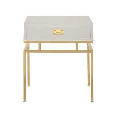 Krupa End Table with Storage - Wayfair