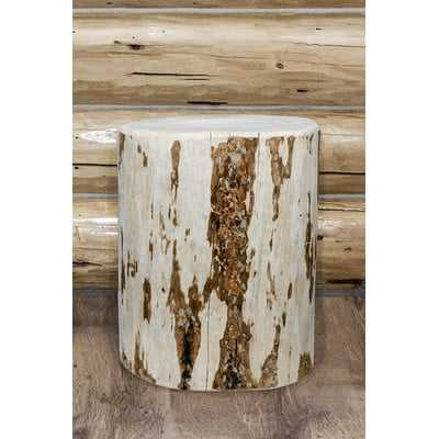 Abordale Cowboy Stump End Table - Wayfair