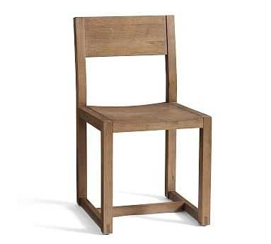 Reed Dining Chair, Antique Umber - Pottery Barn