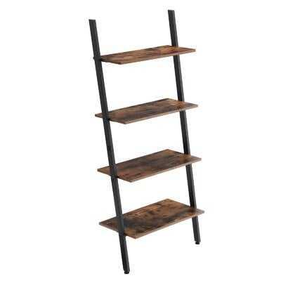 Entrada Industrial Ladder Bookcase - Wayfair