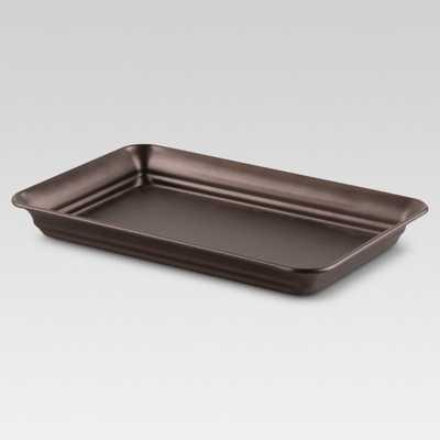 Tray Bronze - Threshold, Golden Bronze - Target