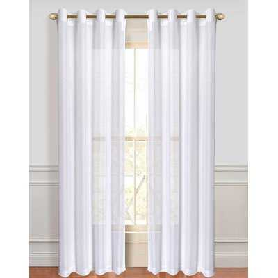 Sirmans Sheer Curtain Panels - Birch Lane