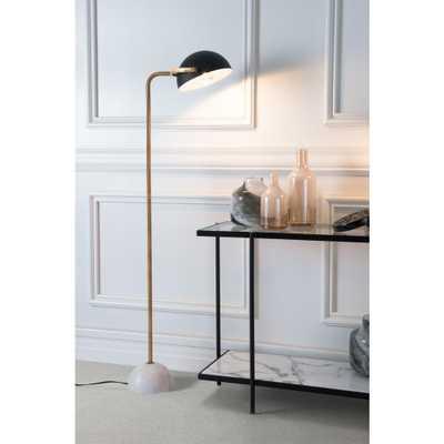 ZUO Irving 60.6 in. Black Floor Lamp - Home Depot