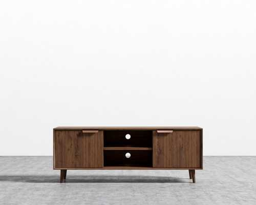 Asher Tv Stand - Walnut Veneer - Rove Concepts
