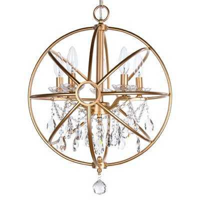 Benton 5-Light Globe Chandelier - Wayfair