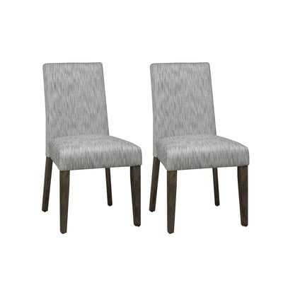 Cleasby Upholstered Dining Chair (Set of 2) - Wayfair