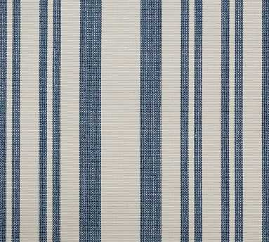 Fabric By The Yard, Antique Stripe Blue - Pottery Barn