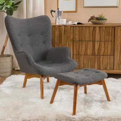 Canyon Vista Lounge Chair and Ottoman - AllModern
