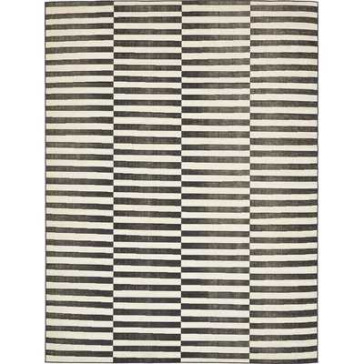 Squire Black Area Rug - Wayfair