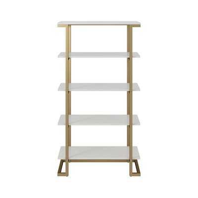 Camila Etagere Bookcase - Wayfair