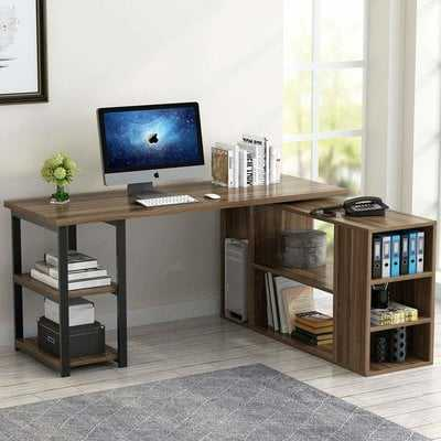 Nemeth Reversible L-Shaped Computer Desk - Wayfair