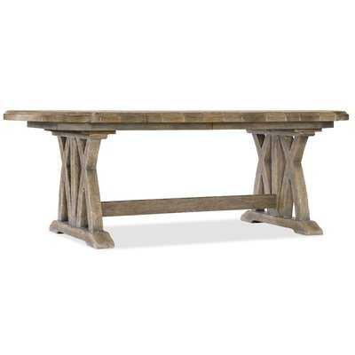 Boheme Colibri Trestle Solid Wood Dining Table - Wayfair