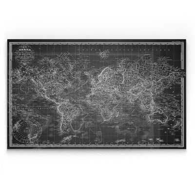 'Vintage Wold Map V' Graphic Art Print - Wayfair