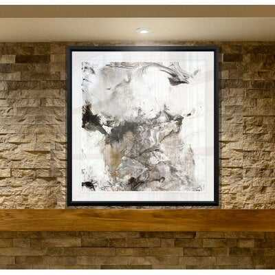 'Marble Onyx II' Graphic Art Print on Canvas - Wayfair