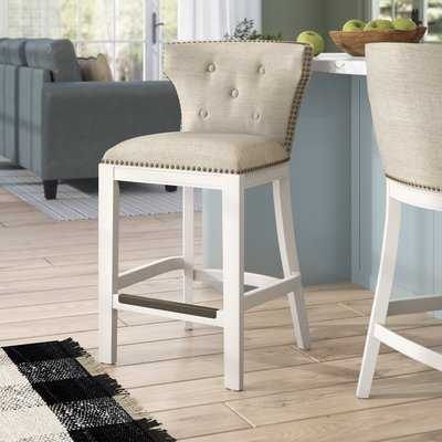 "Chasteen 25"" Bar Stool - Wayfair"