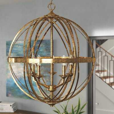 Rodden 5-Light Globe Chandelier - Wayfair