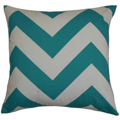 Eir Zigzag Throw Pillow Cover - Wayfair