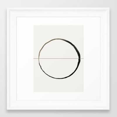 """C7 Framed Art Print framed 12""""x12"""" scoop white with matte // 13.5x13.5 - Society6"""