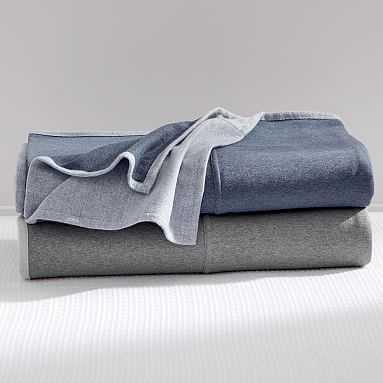 Sweatshirt Blanket, Full/Queen, Navy - Pottery Barn Teen