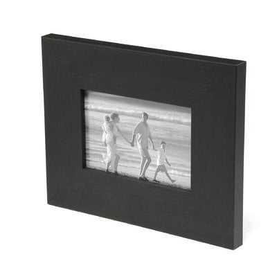 "2"" Wide Composite Wood Distressed Picture Frame / Poster Frame - AllModern"
