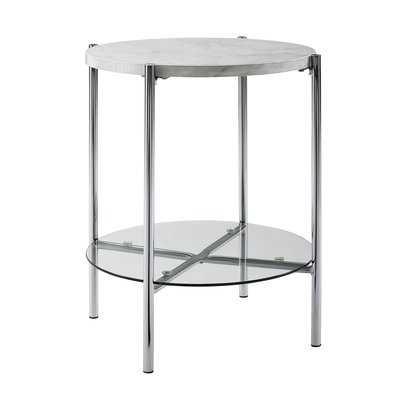 Carr Round End Table - Wayfair
