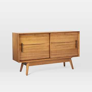 "Mid-Century Media Console, 48"", Acorn - West Elm"