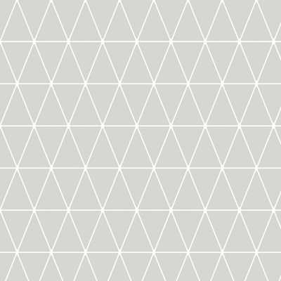 Symmetry Triangolin Gray Removable Wallpaper - Home Depot