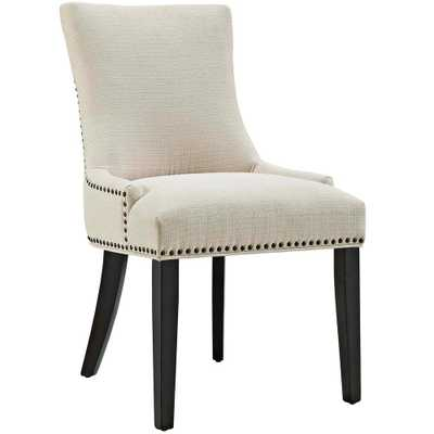 Marquis Beige Fabric Dining Chair - Home Depot